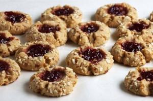 Cherry-Almond-Butter-Thumbprint-Cookies-1024x682-300x199